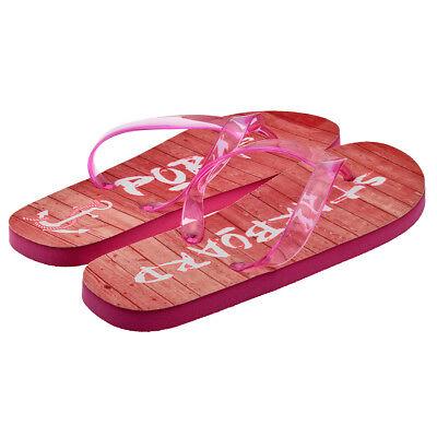 I/'m a Flip Flop /& Prosecco.... Ladies Pink Flip Flops UK Size 4-8 XFFS079