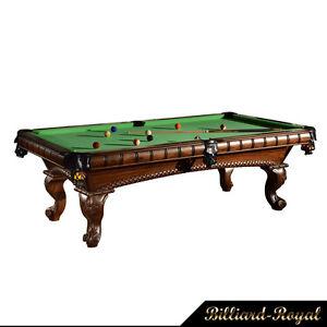 8 ft. Profi Pool Billardtisch Billard Billiard Modell