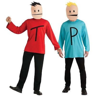 Terrance and Phillip Costume Adult South Park Halloween Fancy Dress - Men Adult Costumes