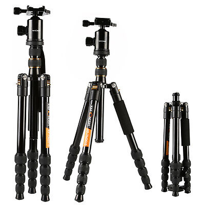 K&F Professional Portable Tripod & Monopod W/ Travel Ball Head for Camera DSLR