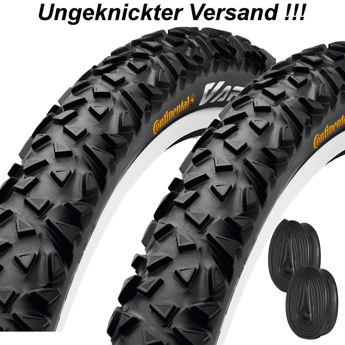 2x Continental Fahrrad Reifen Vapor 26x2.10 54-559 MTB Mantel m/o Conti Schlauch