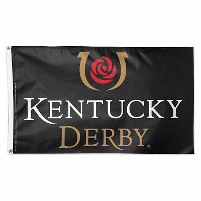 Kentucky Derby Logo Flag and 3x5 Foot Banner