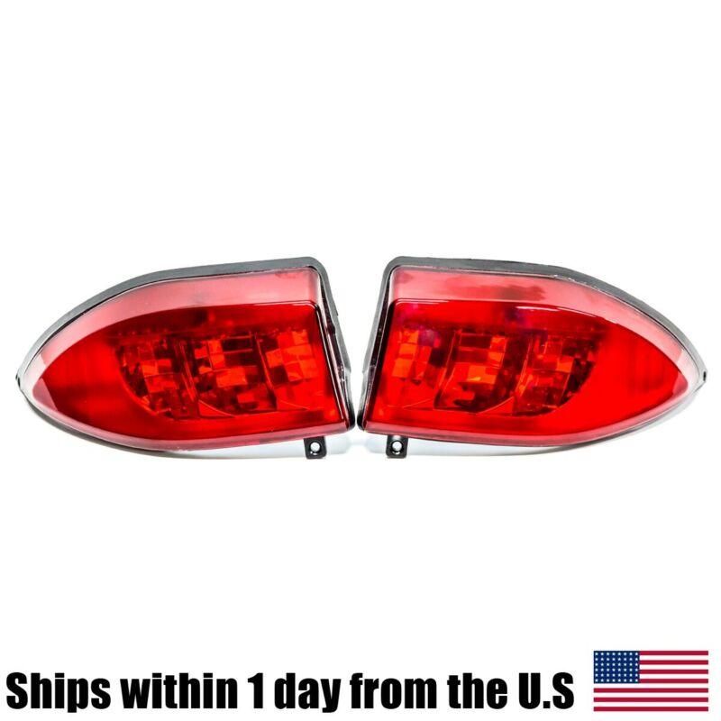 LED Tail Light Kit 2x 12V Rear Taillights for Club Car Precedent Golf 2004 &Up