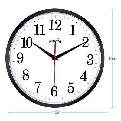 Large Wall Clock Oversized Living Room Silent Decorative Home Modern Big Office ()