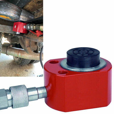 10 Ton Hydraulic Air Short Pump Lift Ram Body Welding Porta Power Jack 9250 Psi