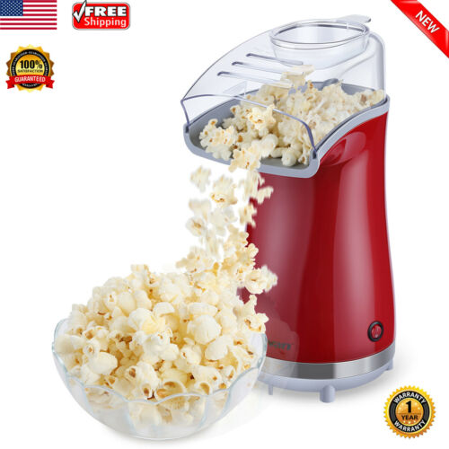 Electric Air-Pop Popcorn Maker Popper Machine 16 Cups Capaci