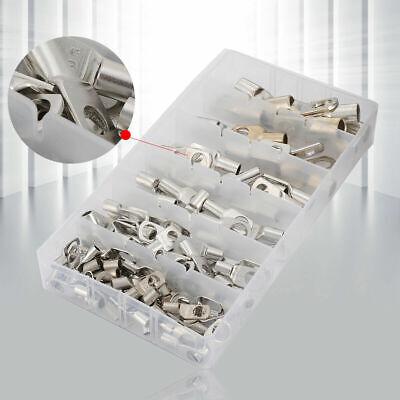 Crimper-kit (104tlg Rohrkabelschuhe 6-50mm² Kabelschuhe Kabelverbinder Kupferrohr Crimper Kit)