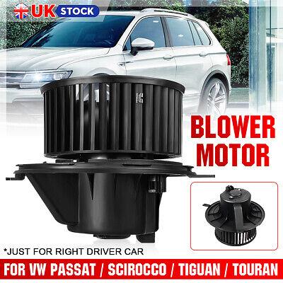 Heater Blower Fan Motor With Air-Con For Audi A3 TFSI TDI TT Roadster 1K2820015A