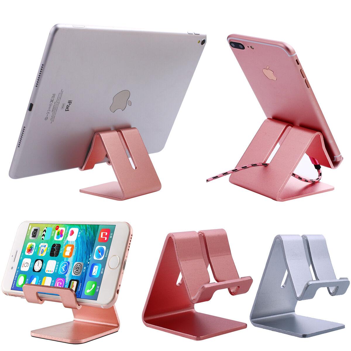 Universal Aluminum Phone Tablet Desk Stand Mount Holder For