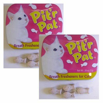 Chomp Pit'r Pat Liver Flavor Tasty Treats for Cats (2 Pack)