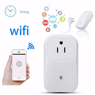Remote Control Timer Timing Switch Plug WiFi Smart Power Soc