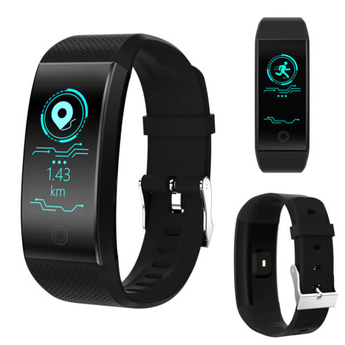 QW18 Smart Watch Fitness Tracker Heart Rate Monitor Blood Pr