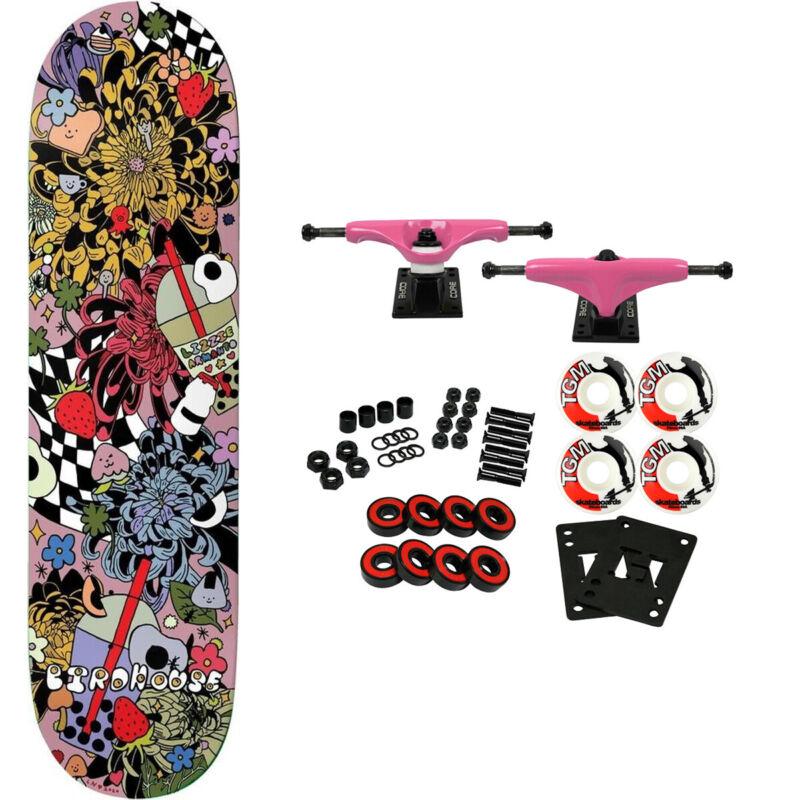 "Birdhouse Skateboard Complete Lizzie Armanto Strawberry 8.0"""
