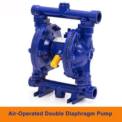 115psiair-operated Double Diaphragm Pump Petroleum Fluids Low Viscosity12 Blue