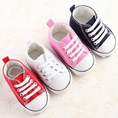 Converse New Born Crib Booties Boys Girls Whie Leather First Star Baby Shoes - Baby Clothes Converse