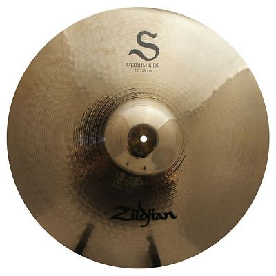 Zildjian S22Mr 22-Inch S Family Medium Ride Cymbal W/ Bright Sound - Used 22 Medium Ride Cymbal