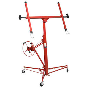 Drywall Lift Lift Panel Hoist Dry Wall Jack Lifter Construction Tools