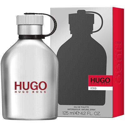 HUGO BOSS ICED EAU DE TOILETTE HOMMES 125ml VAPORISATEUR NEUF SOUS BLISTER
