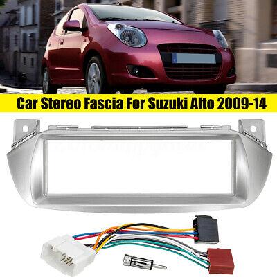 Car Stereo Radio Fascia ISO Wiring Harness Aerial Fitting For Suzuki Alto Nissan