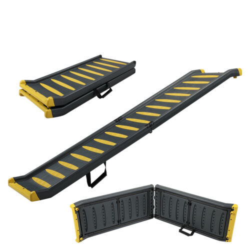 """63"""" Dog Ramp Portable Car Use Pet Ramp Ladder Heavy Duty Stairs For Bed & Cars"""