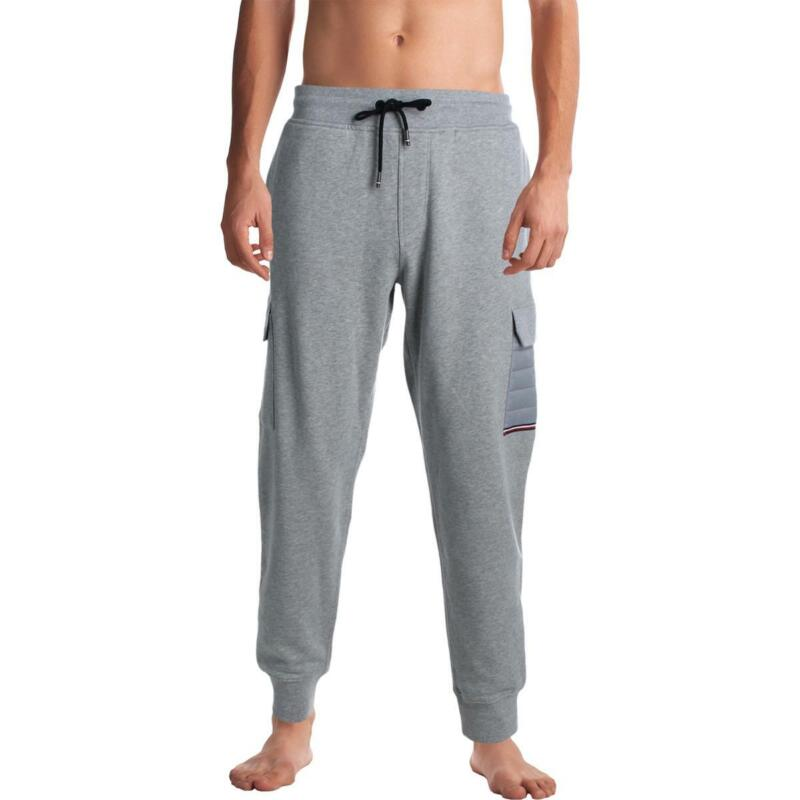 Tommy Hilfiger Mens Cotton Cargo Comfy Sweatpants Loungewear BHFO 2889