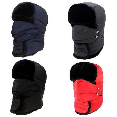 Winter Bomber Hat Russian Trooper Snow Ski Ushanka Waterproof Warm Men Women Kid](Kids Russian Hats)