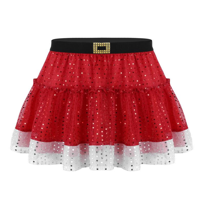 Women s Shiny Red Skirt Skater Flare Pleated Short Mini Short Skirts Party  DressUSD 2.99 b3b428ca17d7