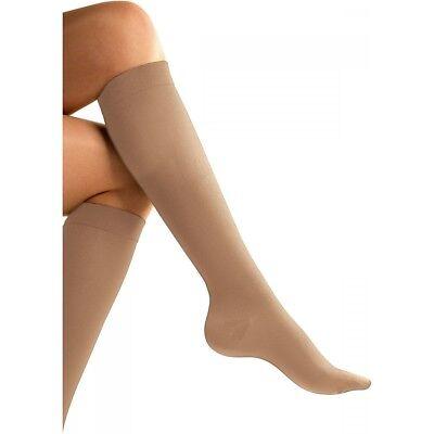 Go Travel E7 Compression Flight Socks Unisex Design Beige Nude Size Small 797
