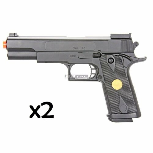 New Airsoft Gun Spring Pistol BBTac P169 6mm BBs Cheap Two P