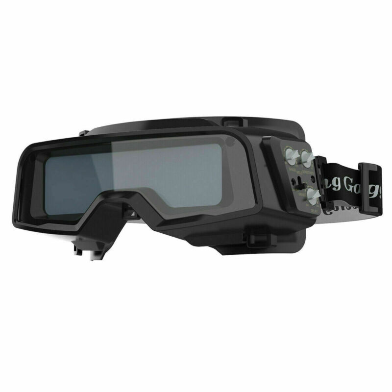 1/1/1/2 True Color Auto Darkening lenses Welding Goggles for WELD/ CUT/ Grind
