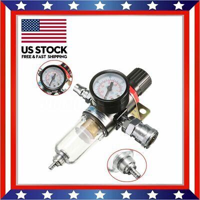 "AFR-2000 1/4"" Air Compressor Filter Water Separator Trap Tools US"