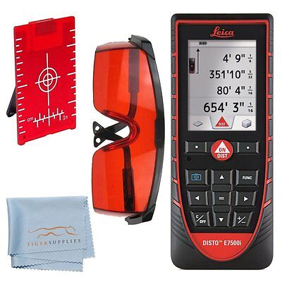 Leica Disto E7500i Laser Distance Meter W Bluetooth Smart And Pointfinder