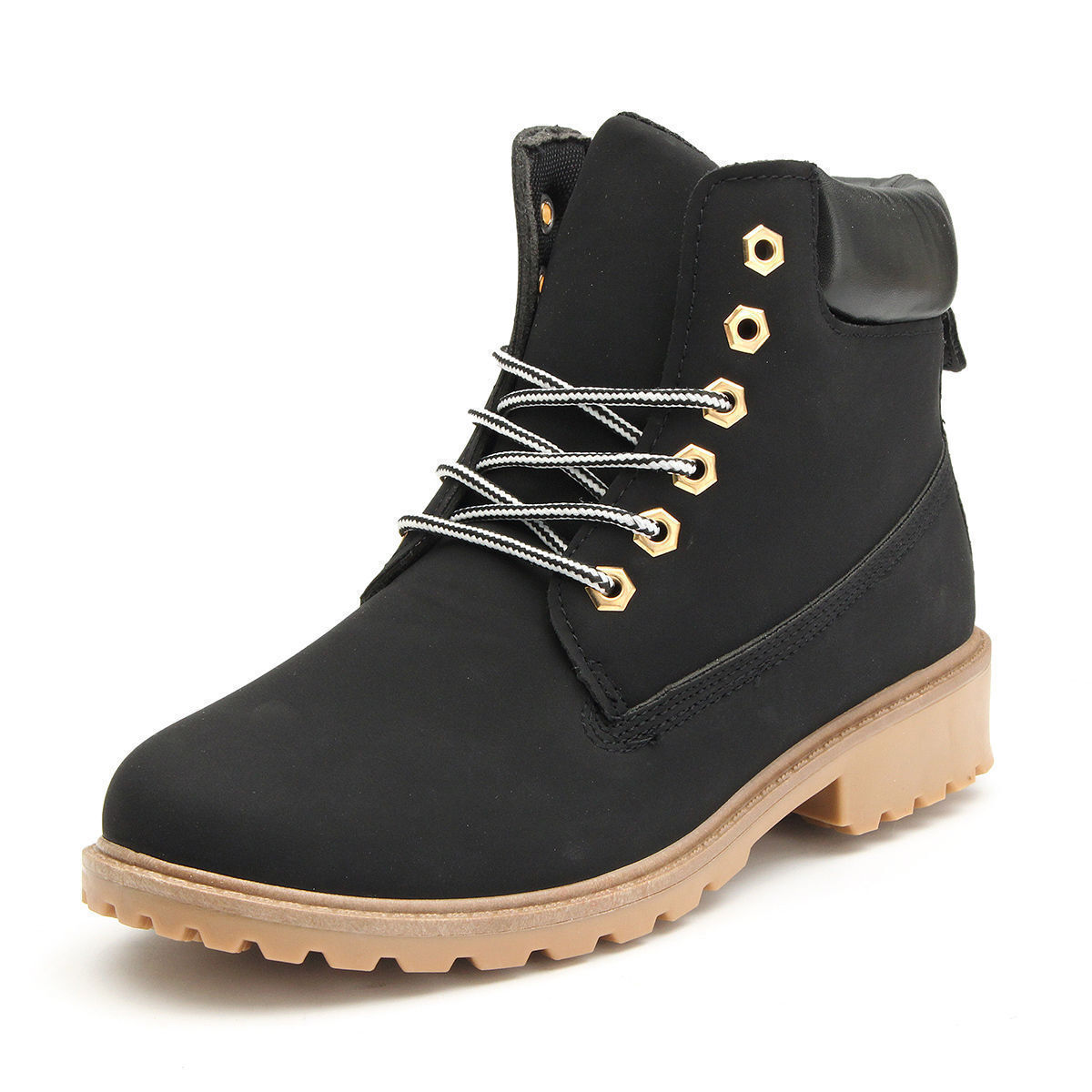 2018 WORK Boots Women's Winter Leather Boot Lace up ...