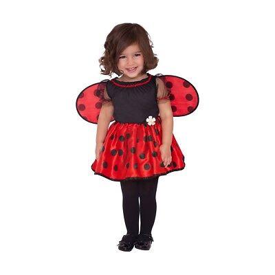 Kostüm von Marienkäfer Mädchen Karneval neu geboren Kleid ladybug baby little