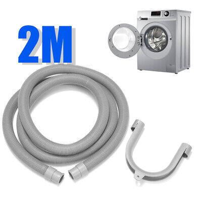 78.7'' PVC Flexible Elbow Drain Hose With Bracket For Washer Washing Machine