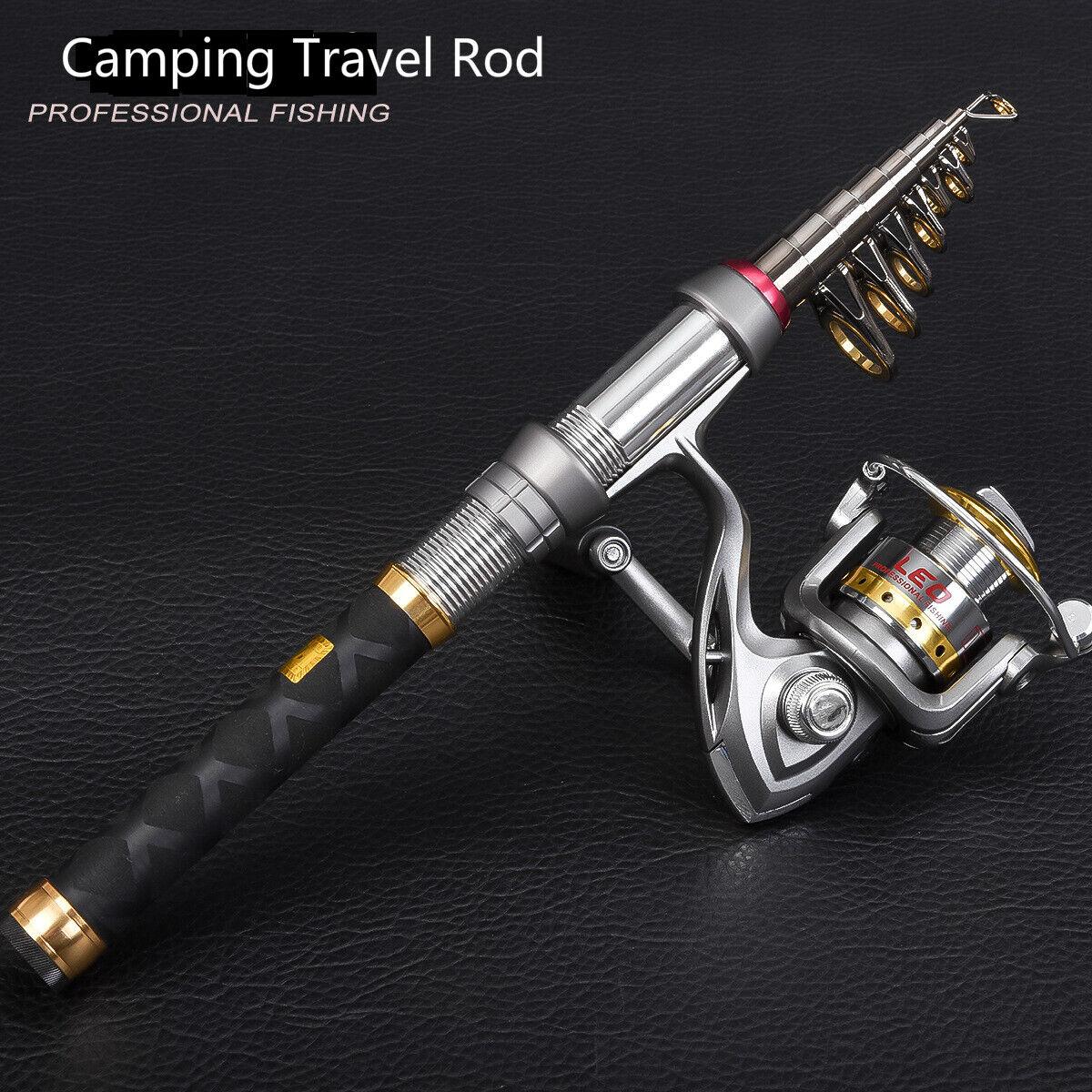 Carbon Travel Heavy Duty Telescopic Sea Pier Beach Carp Fishing rod CW:60-150g