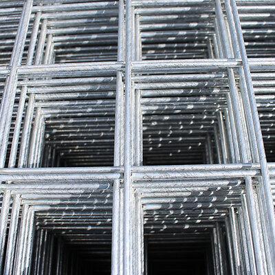 Galvanised Wire Mesh Panels | 4 Pack | 12 Gauge | 2.44m x 1.22m | 2