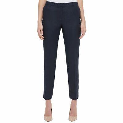 TOMMY HILFIGER NEW Women's Radcliffe Linen Blend Slim Ankle Casual Pants TEDO