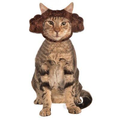 Princess Leia Cat Buns Pet Costume Pet Star Wars - Princess Leia Cat Costume