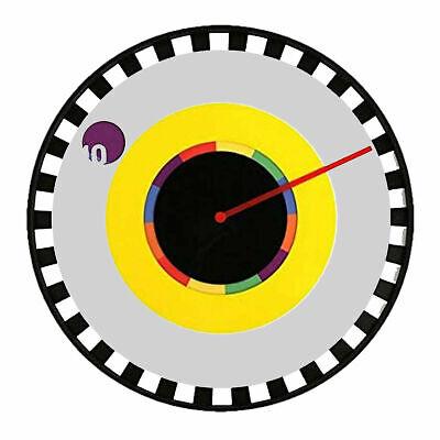 """Wall Clock Designer Sprocket By """"Milton Glaser"""" 25cm Modern Design By Kikkerland"""
