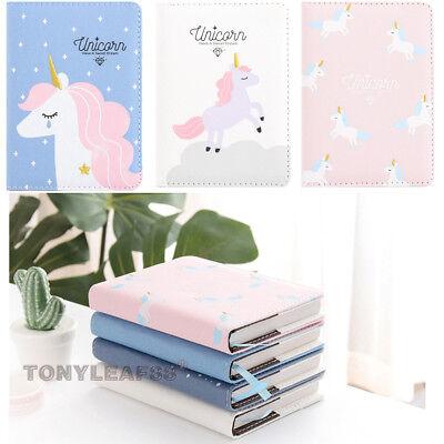 Unicorn Journal Calendar Organizer Weekly Planner Notepad Notebook Portable