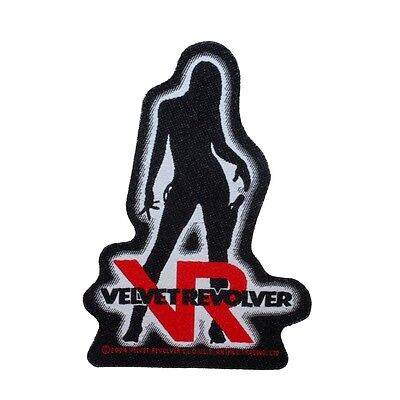 Velvet Revolver Girl Logo Hard Rock Band Merchandise Sew On Applique Patch