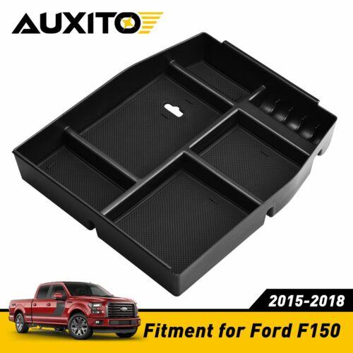 Armrest Box Storage Box For Ford F150 2015-2018 Car Interior Accessories Black