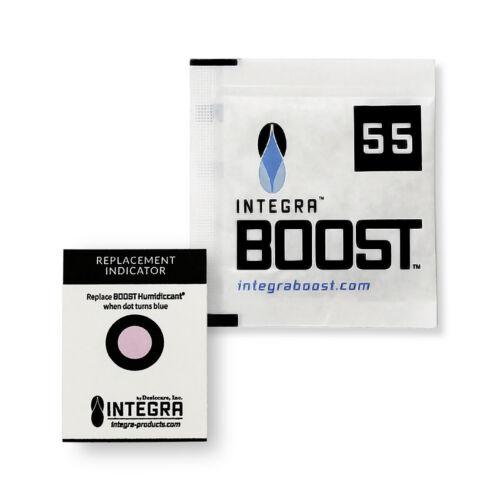 25 Pack Integra Boost Humidiccant RH 55% 8 gram Humidity 2 Way Control Humidor
