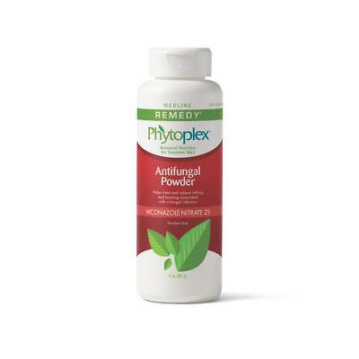 Medline Remedy Phytoplex Antifungal Powder, White, 3 oz  -