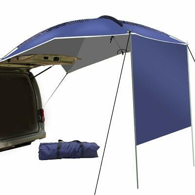 UBOWAY Car Rear Tent Awning Sun Shelter Waterproof SUV Outdoor Camping Canopy