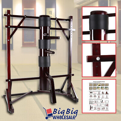 Wing Chun Wooden Dummy Frame Training Target Martial Arts KongFu Fight Practice