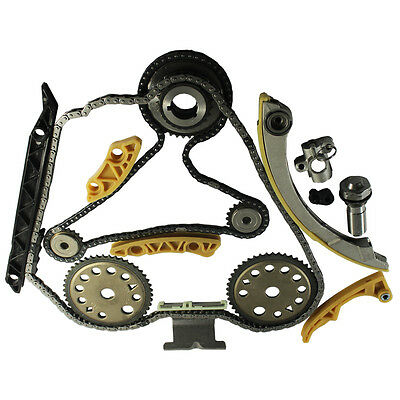 Engine Timing Chain Kit w/ Balance Shaft Set L61 For 2000 11 GM 2.0L 2.2L 2.4L