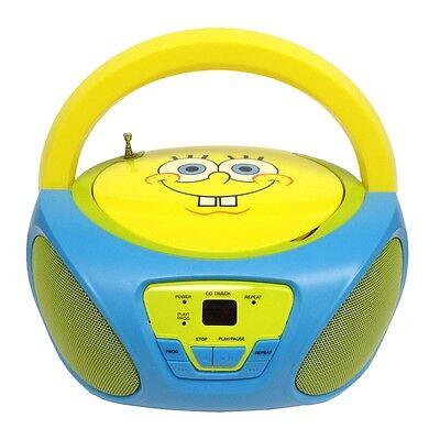 Nickelodeon Spongebob Squarepants Cd Boombox 56062-gro
