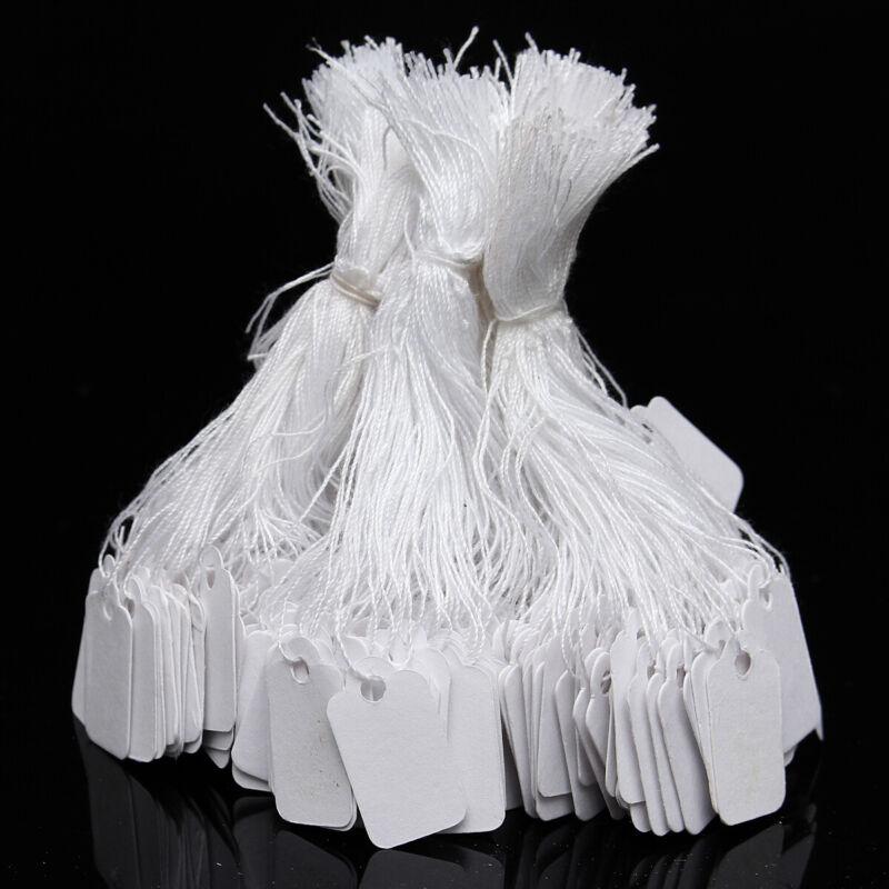 500pcs weiß Packpapier Anhänger Gift Tags Geschenkanhänger Papieretiketten